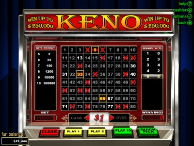bodog-casino-keno